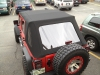 Omix 4 Door  Rear Jeep Power Folding Top